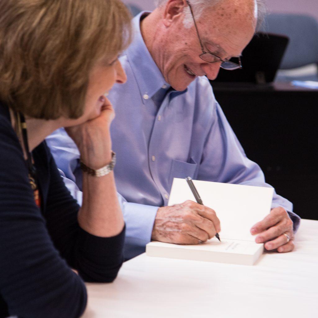 Arps signing books